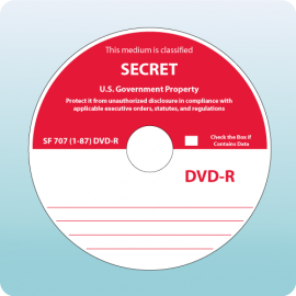 Blank DVD-R Secret SF707-87