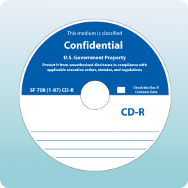 Blank CD-R Confidential SF708-87