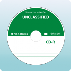 Blank CD-R Unclassified SF710-87